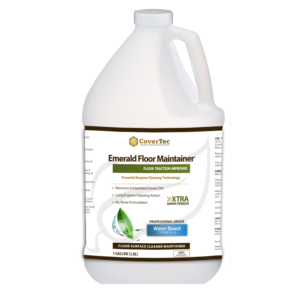 Emerald Enzyme Floor Maintainer And Cleaner