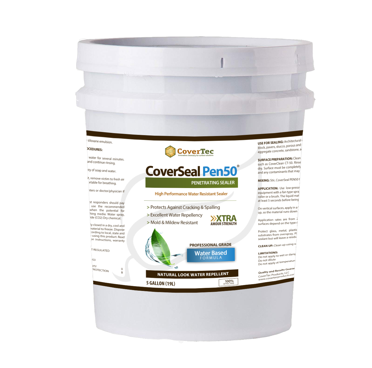 CoverSeal PEN 50 Water And Mold Resistant Penetrating Sealer